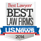 Included on the Best Law Firms list by Best Lawyers
